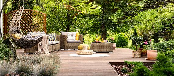 Holzterrasse - Holz Terrasse - Terrassenbau - Gartenbnau - Mönchengladbach Garten Holz Vision
