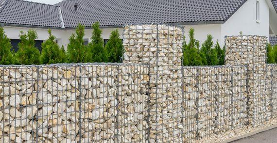 Gabionen - Düsseldorf- Garten Holz Vision - Gartenbau