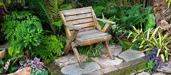 Tropische Gartengestaltung von Garten Holz Vision